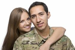 Military family choosing surrogacy